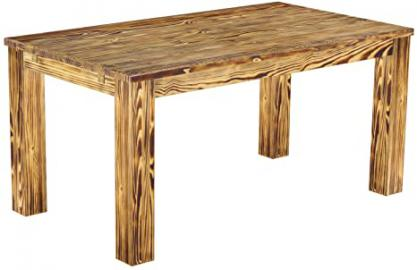 Brasil Furniture 'Rio' 160 x 90 cm Dining Table Solid Pine Wood – Mottled colour