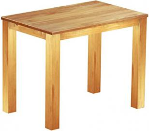 Brasil High Table 'Rio' 140 x 90 cm, Solid Pine Wood, Colour: Honey