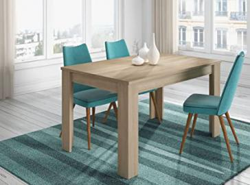 Extendible Dining Table 140to 190MOD. Canada Oak