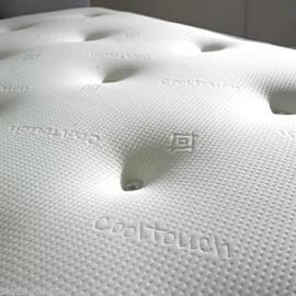 "Quality 10"" Thick Memory Foam Mattresses – 1500 Pocket Sprung Mattress – Comfort Tufted Design – Sleepkings (6ft Super Kingsize)"