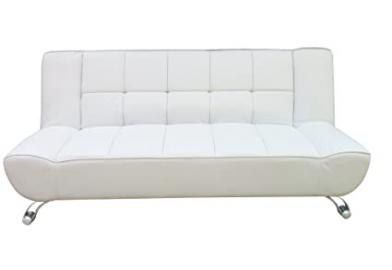 LPD Vogue White Sofa Bed