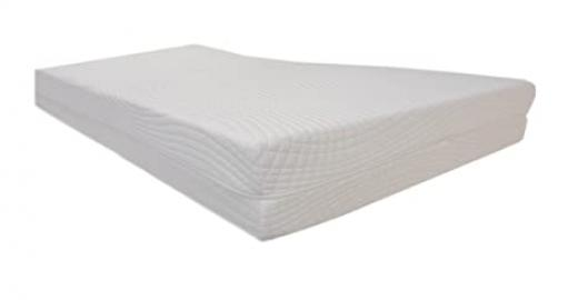Orthopaedic Cold Foam Mattress HR 9 Zones RG 50, 100 cm X 200 cm X 18 cm Core with Double Cloth with Approximately 20 cm Hardness: H3 (from 85 kg) Dibapur: Superior