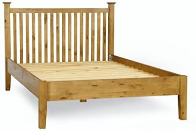 Roseland Furniture Eden 4 Chest Drawer, Wood, Antique Pine