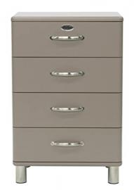 Tenzo MALIBU Designer Chest of Drawers, 92 x 60 x 41 cm, Coffee