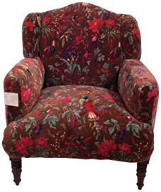 Ian Snow Bird Armchair, Chocolate