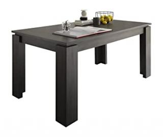 Furnline Extendable Dining Table, Ash Dark Grey