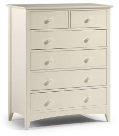 Julian Bowen Cameo 4 + 2 Chest of Drawers