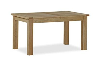 Global Home Products Collection 100 Compact Butterfly Extending Table, Wood, Brown