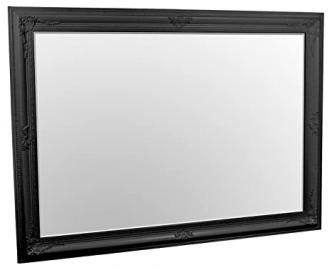 Edward King Size Wall Mirror Black