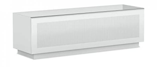 Elmob Large LR160-03 1600mm Wide TV Cabinet AV Unit - White