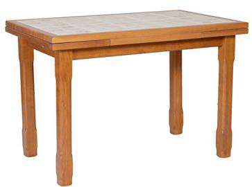 Tiled Kitchen Table 110x 70with 2Extension