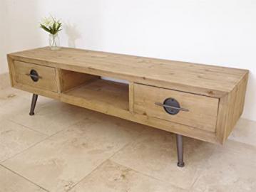 ELM Wooden TV Cabinet 2 Corner Drawer