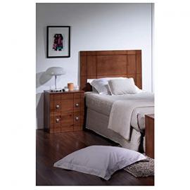 Headboard 90+ Bedside Table in Wood Walnut r-kub