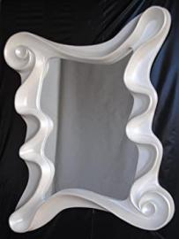 FAVI Decorative Mirror with Frame Mother-Of-Pearl White–Premium Selection