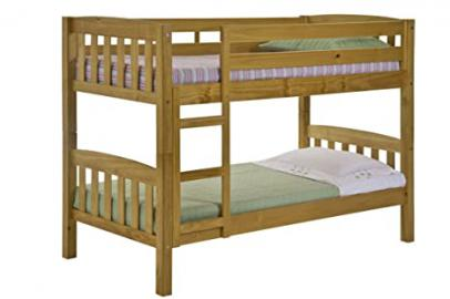 Design Vicenza America Bunk Bed Long 3ft Antique