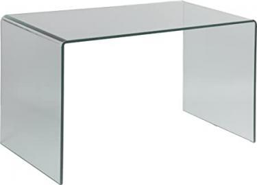Curved Glass Desk