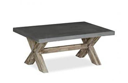 Global Home Products Collection 90 Coffee Table, Wood, Multi-Colour