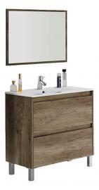 Arkitmobel Dakota–Bathroom Cabinet, 80x 80x 45cm, Nordik Colour