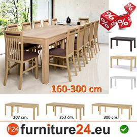 Table extendable, Kitchen Table, Dining room table, Extendable to 300 cm !!! Wenus