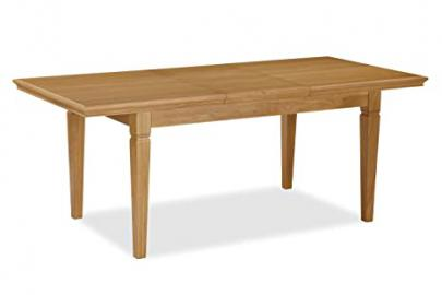 Global Home Products Collection 160 Compact Butterfly Extending Table, Wood, Multi-Colour