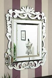 Large French Baroque Design Venetian Mirror