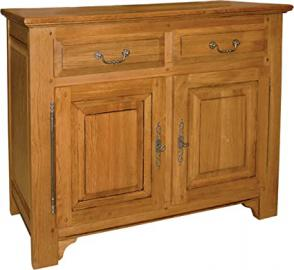 Sideboard 2 Doors 2 Drawers Solid Oak Drawers