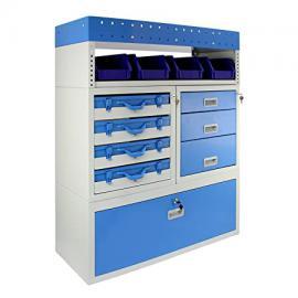 Monster Racking Storm Secure Van Racking Garage Storage Unit Blue 101.6cm x 115.8cm x 36cm