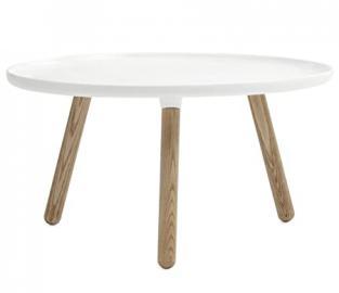 Tablo Table - Tavolo Grande Bianco Smaltato