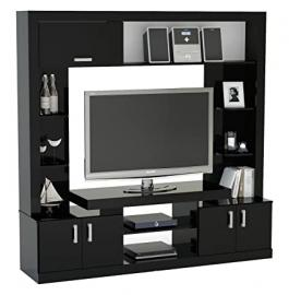 Birlea Uno Entertainment Unit - Wood, Black