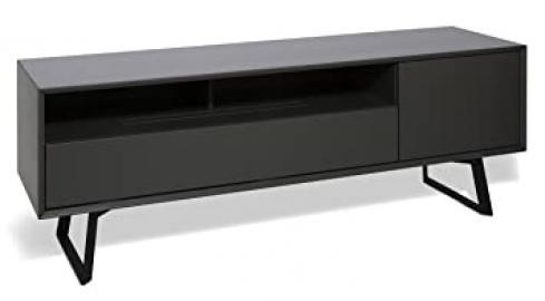 Alphason Carbon TV Stand Black & Grey 2016 Design (1600mm)