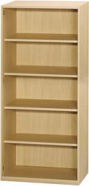 Sun - 4 Shelf Bookcase - Beech Effect - Flat Packed