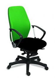 Century Office Melody Office Chair, Fabric, Green