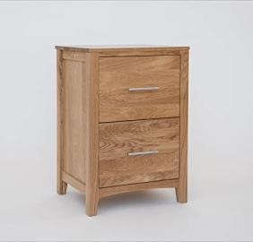 Hereford Oak 2 Drawer Filing Cabinet