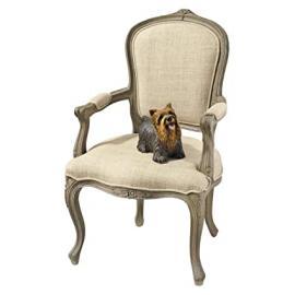 Design Toscano the Carlisle Louis XV Open Armchair
