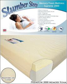 Extreme 2000 Memory Foam Hypo-allergenic Mattress 6FT Super King 160cm