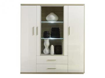 Furnline Arena Living Room Cabinet, White