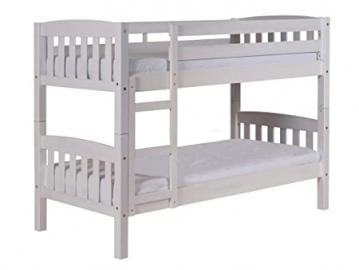 Design Vicenza America Bunk Bed Long 2ft6 Whitewash
