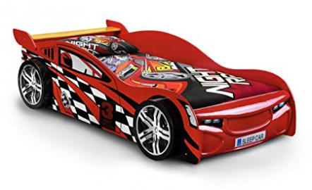 Scorpion Racer Bed 3FT Single Stunning High Red Gloss