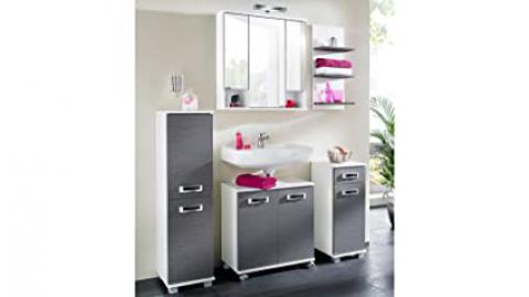 Schildmeyer Cadiz Bathroom Furniture Set eschefarben, grau