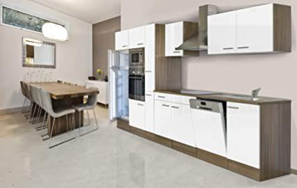 Respekta Kitchen Unit Empty Kitchen/Empty Units/370cm/Oak York Grey
