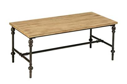 Premier Housewares Tribeca Coffee Table, Wood - 45 x 110 x 55 cm, Natural