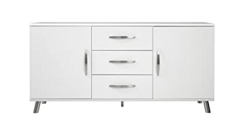 Tenzo VIEW Designer Sideboard, 72 x 145 x 40 cm, White