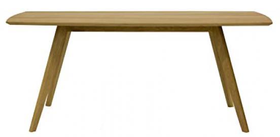 Tenzo BESS Designer Dining Table, 75 x 185 x 95 cm, Oak Veneer