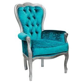 Febland Michael Three Arc Lounge Chair, Fabric, Teal