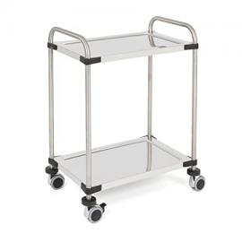 Rieber 72505036 Servo Star Kitchen Trolley 640 RL 2 Shelves Flatpack Home