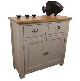 Windermere Sage Grey 2 Door 2 Drawer Sideboard / Mini Double Sideboard