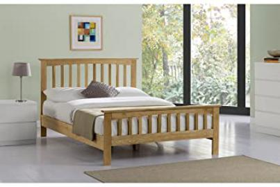 Alderley Solid Oak Bed- Double