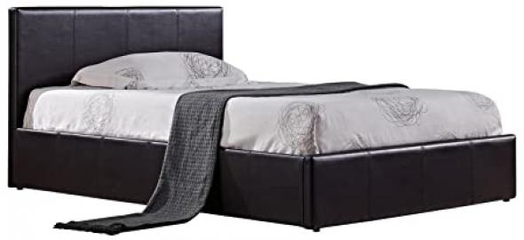 Birlea Furniture Birlea Ottoman Small Double Bed, Brown