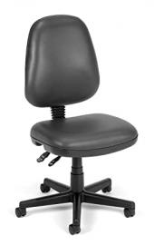 Fully Adjustable Posture Task Chair w Casters (Charcoal)