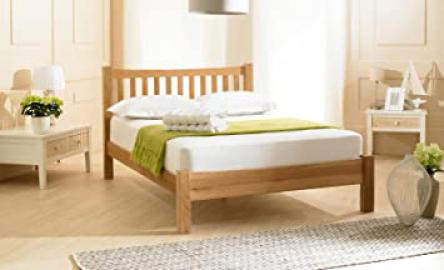 Duchess Solid Oak Bed, 6' Super Kingsize